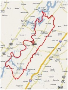 Meigs County Map